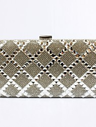 cheap -Bags PU Evening Bag Crystals for Wedding / Event / Party Black / Silver