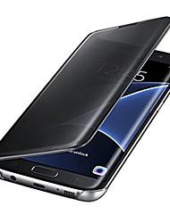Недорогие -Кейс для Назначение Apple iPhone X iPhone 8 Plus Покрытие Зеркальная поверхность Чехол Сплошной цвет Твердый ПК для iPhone X iPhone 8