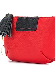 cheap -Women Bags Cowhide Coin Purse Zipper for Casual Outdoor All Season Gray Red Black Green Blue