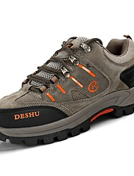 cheap -Men's Shoes Cashmere Spring Fall Light Soles Athletic Shoes Hiking Shoes for Outdoor Gray Khaki