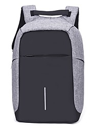 cheap -Unisex Bags Polyester Laptop Bag Zipper for Outdoor All Season Blue Black Gray Purple