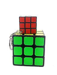 abordables -Rubik's Cube 1*3*3 Cube de Vitesse  Cubes magiques Casse-tête Cube Ecole Plastique + platine + eau Couverture résistant époxy Sports