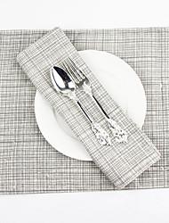 economico -Elegant Cotone/poliestere Rettangolare Tovagliette all'americana Decorazioni da tavola