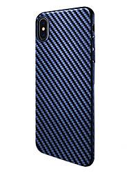 Per iPhone X iPhone 8 Custodie cover Resistente agli urti Custodia posteriore Custodia Tinta unica Morbido Silicone per Apple iPhone X