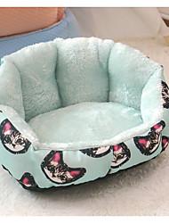Недорогие -Кошка Собака Кровати Животные Коврики и подушки Животное Оранжевый Зеленый Для домашних животных