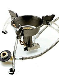 cheap -Camping Gas Stove Camping Burner Stove Outdoor Cookware Wearable Metalic for Camping