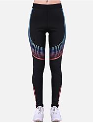 baratos -Mulheres Calças de Yoga Esportes Lolita Meia-calça / Leggings Ioga, Pilates, Exercício e Atividade Física Roupas Esportivas Respirabilidade Com Stretch
