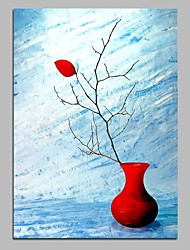 cheap -Hand-Painted Still Life Vertical, Modern Canvas Oil Painting Home Decoration One Panel