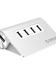 cheap -ORICO 4 USB Hub USB 3.0 USB 2.0 USB 3.0 Input Protection Over Range Protection Data Hub