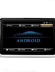 abordables -zopai 10.1 pulgadas android 6.0 asiento trasero cabeza coche monitor reposacabezas jugador 1 unids