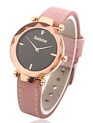 baratos -Mulheres Relógio Casual Relógio de Moda Relógio de Pulso Chinês Quartzo N/D PU Banda Casual Preta Vermelho Rosa Azul Marinho