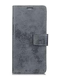 Etui Til Huawei P10 Lite P10 Pung Kortholder Flip Heldækkende Helfarve Hårdt Kunstlæder for P10 Plus P10 Lite P10 P9 P9 Lite