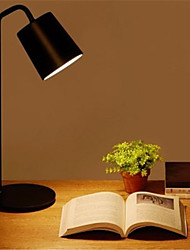 Недорогие -xiaomi yeelight минималистский e27 настольная лампа - белый / черный с источником света 220v
