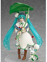 cheap -Anime Action Figures Inspired by Vocaloid Hatsune Miku PVC 13 CM Model Toys Doll Toy