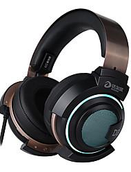 cheap -Dareu EH735  Headset headphones 7.1 audio channel audio Light weight 50mm voice unit