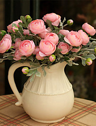 abordables -1 Rama Otros Rosas Flor de Mesa Flores Artificiales
