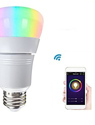 abordables -1pc 8W 500lm E26 / E27 Ampoules LED Intelligentes 22 Perles LED SMD 2835 Fonctionne avec Amazon Alexa / Contrôle de l'APP / Google Home