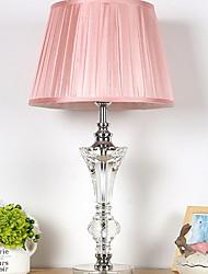 abordables -Cristal Cristal Lampe de Table Pour Cristal 220-240V Rose dragée clair