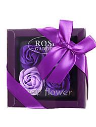 baratos -Flores artificiais 4.0 Ramo Luxo / Festa Rosas Flor de Mesa