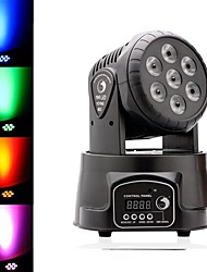 cheap -U'King LED Stage Light / Spot Light DMX 512 Master-Slave Sound-Activated Auto Remote Control 70 for Outdoor Party Stage Wedding Club