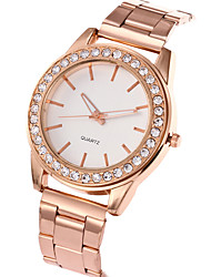 cheap -Women's Fashion Watch Wrist watch Casual Watch Quartz Stainless Steel Band Charm Luxury Elegant Cool Casual Silver Gold Rose Gold