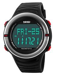 Недорогие -SKMEI Муж. Цифровой Спортивные часы Японский Календарь Защита от влаги Повседневные часы Фосфоресцирующий Хронометр Plastic Группа