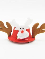 Недорогие -Животный принт Рождественская шляпа Цвет фуксии Другие материалы Косплэй аксессуары Рождество