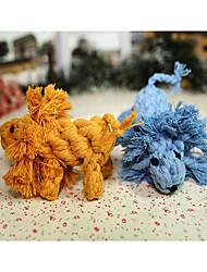 Недорогие -Игрушка для собак Игрушки для животных Жевательные игрушки Веревка Лев Шнур Для домашних животных
