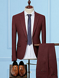 cheap -Men's Casual/Daily Casual Winter Fall Suits