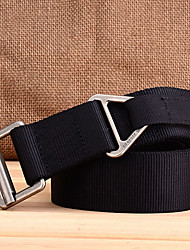 cheap -Men's Work Casual Alloy Waist Belt - Solid Colored, Pure Color
