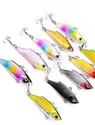 economico -10 pc Strumenti di pesca Esche rigide Plastica Generico Classico Pesca di mare Lenze trainate & Barchette Pesca con esca