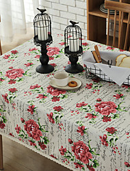 cheap -European Style Cotton Square Table Cloth Table Decorations