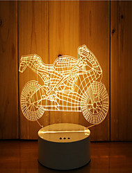 1 комплект из 3-х дневного света ночного света настроения с подсветкой