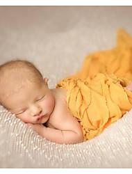 Baby Unisex Tøjsæt Fødselsdag Ensfarvet,Polyester Alle årstider Uden ærmer Sødt Brun Hvid Grå