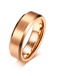 cheap -Men's Band Ring - Circle Simple / Casual / Fashion Gold Ring For Daily / Formal