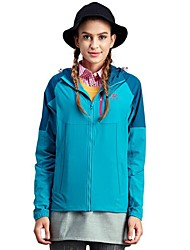 cheap -Women's Hiking Fleece Jacket Outdoor Keep Warm Fast Dry Windproof Top Full Length Visible Zipper Running/Jogging Camping / Hiking Casual
