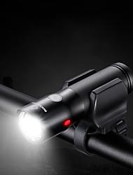baratos -Luzes de Bicicleta Ciclismo Impermeável Suporte com Adaptador Litio Lumens Carregamento USB Ciclismo