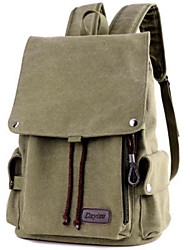 cheap -Men's Bags Polyester Nylon Backpack Pocket for Casual All Seasons Black Military Green Gray Coffee Khaki