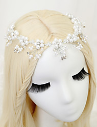 cheap -Crystal Imitation Pearl Rhinestone Alloy Headbands 1pc Headpiece