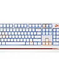 Недорогие -dareu проводная механическая клавиатура синие переключатели 1,8 м