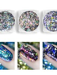 cheap -1pcs Nail Glitter Powder Sequins Classic High Quality Daily Nail Art Design