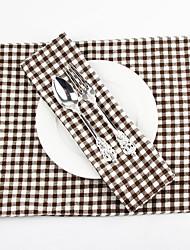 economico -Elegant Cotone Rettangolare Tovagliette all'americana Decorazioni da tavola