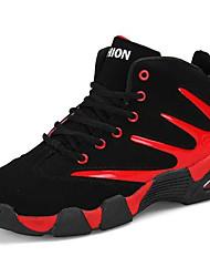 Недорогие -Универсальные Обувь Синтетика Зима Осень Удобная обувь Спортивная обувь Для баскетбола На плоской подошве Круглый носок Ботинки / для