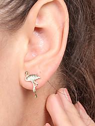 cheap -Women's Stud Earrings , Sweet Lovely Fashion Korean Alloy Flamingo Jewelry Gift Daily Date Street Festival