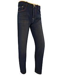 cheap -Men's Jeans Pants - Color Block Peplum