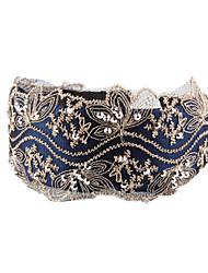 preiswerte -Damen Einfach Ganzjährig Haarekamm,Schmuck Blau