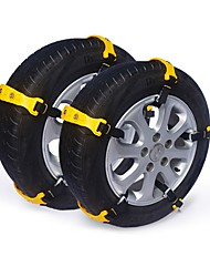 cheap -Snow Chains Anti-skid Emergency Snow Tyre Chains Car Belting Straps Universal Fit Emergency Anti-Skid Car Cable Tire Mud Snow Chain