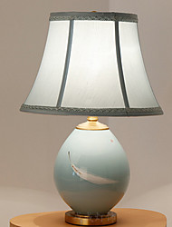 cheap -Ambient Light Artistic Table Lamp Eye Protection On/Off Switch AC Powered 220V White Blue