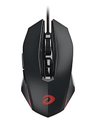 baratos -Dareu em 925pro mouse de jogo com fio sete chaves 10800dpi