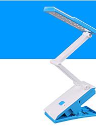 Luz Ambiente Luminária de Escrivaninha Ajustável Interruptor On/Off Alimentação AC 220V Verde Azul